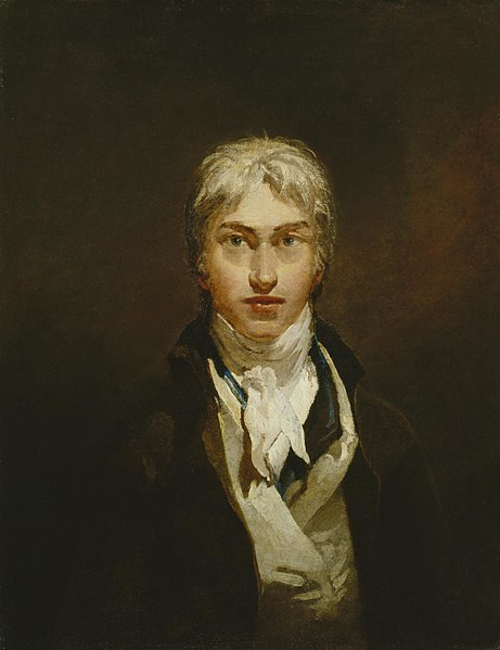 Autoportrait, William Turner, 1799