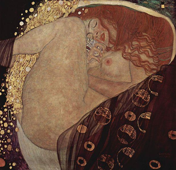 Danaé, Klimt, 1907-1908