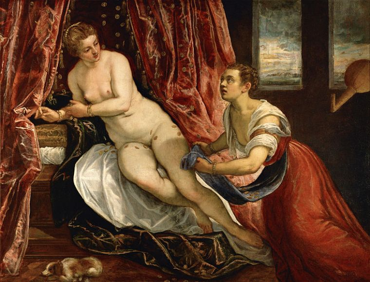 Danaé, le Tintoret, 1570