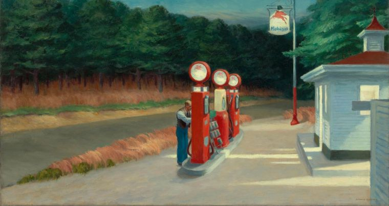 Gas, Hopper, 1940