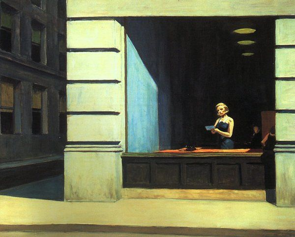 New York Office, Hopper, 1962