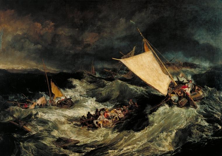 Le Naufrage, William Turner, 1805