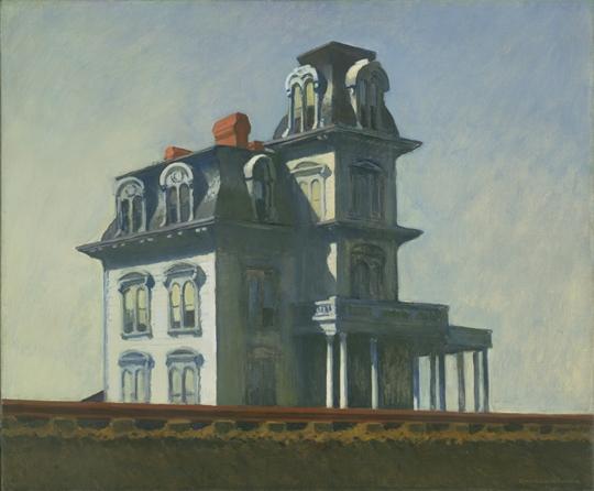 Maison au bord de la voie ferrée, Hopper, 1925