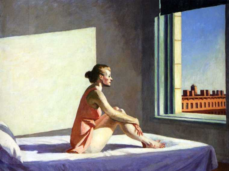 Morning Sum, Hopper, 1952
