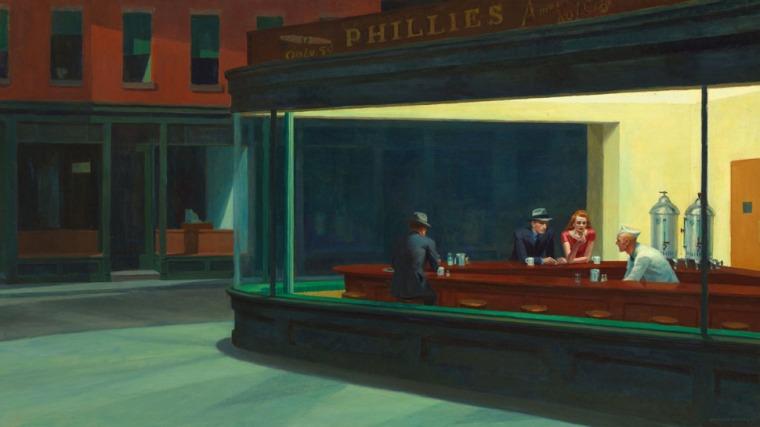 Nighthawks, 1942, Hopper