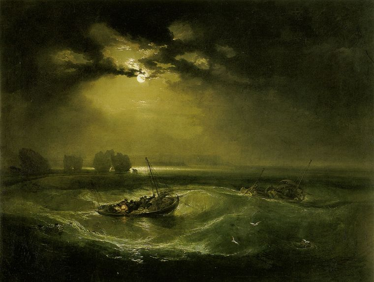 Pêcheurs en Mer, William Turner, 1796