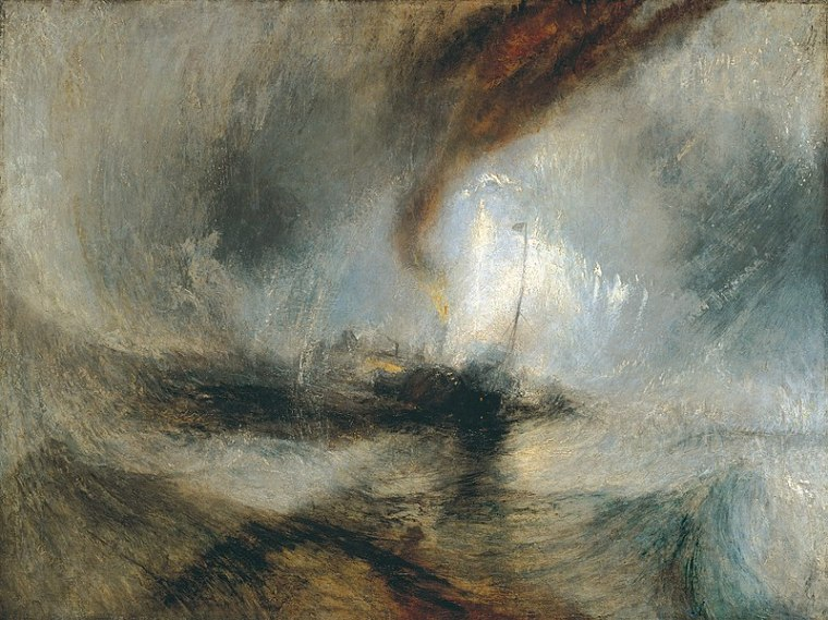 Tempête de Neige en Mer, William Turner, 1942