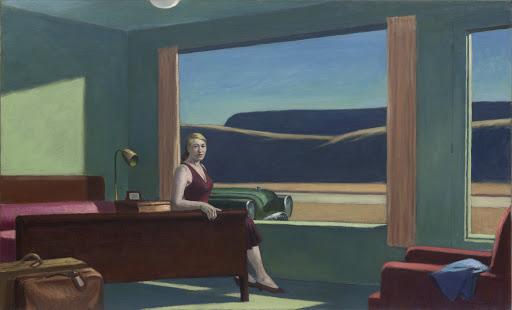 Western Motel, Hopper, 1950