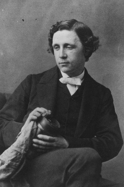 Lewis Carroll, le créateur d'Alice au pays des Merveilles.