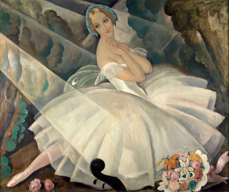 La ballerune Ulla Poulsen, Gerda Wegener