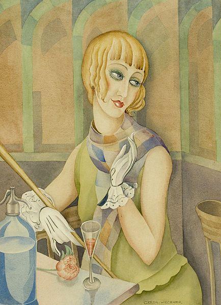 Portrait de Lili Elbe, Gerda Wegener