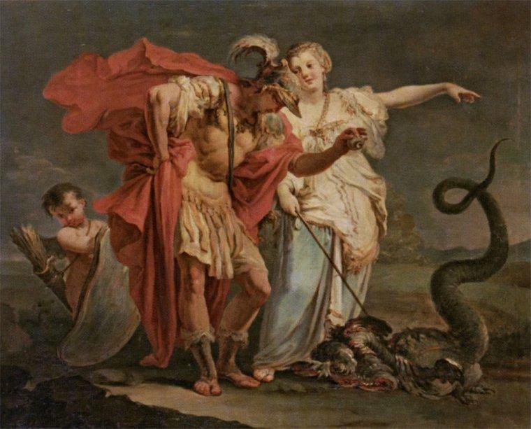 Jason et Médée, Crosato
