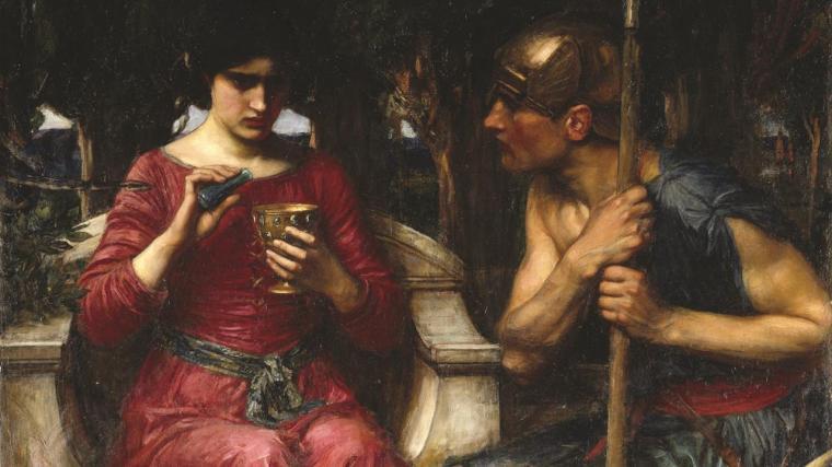 Jason et Médée, Waterhouse, 1907