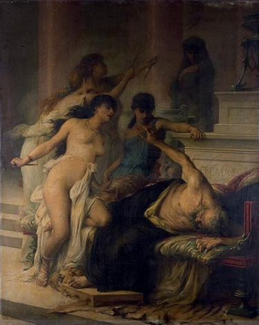 L'assassinat de Pélias, Georges Moreau de Tours, 1878