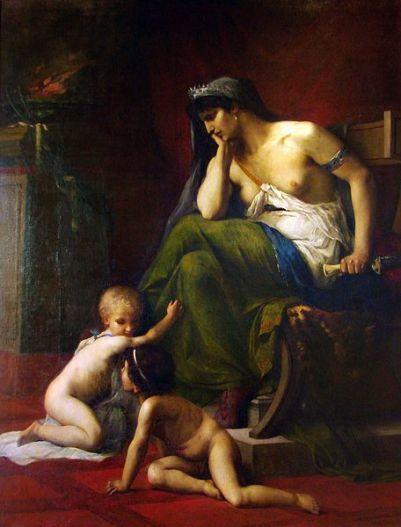 Médée, Klagmann, 1868