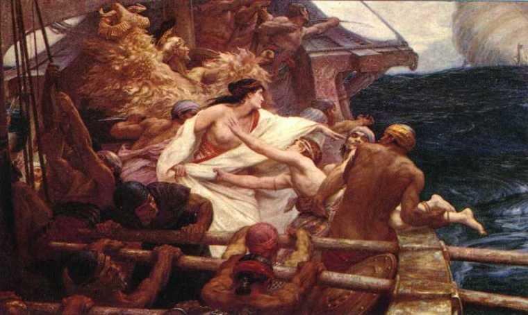 La toison d'or, Draper, 1904