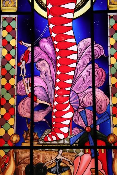 """Christian Louboutin, """"L'Exhibitionniste"""" au Palais de la Porte Dorée"""