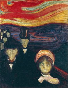Anxiété, Munch, 1894