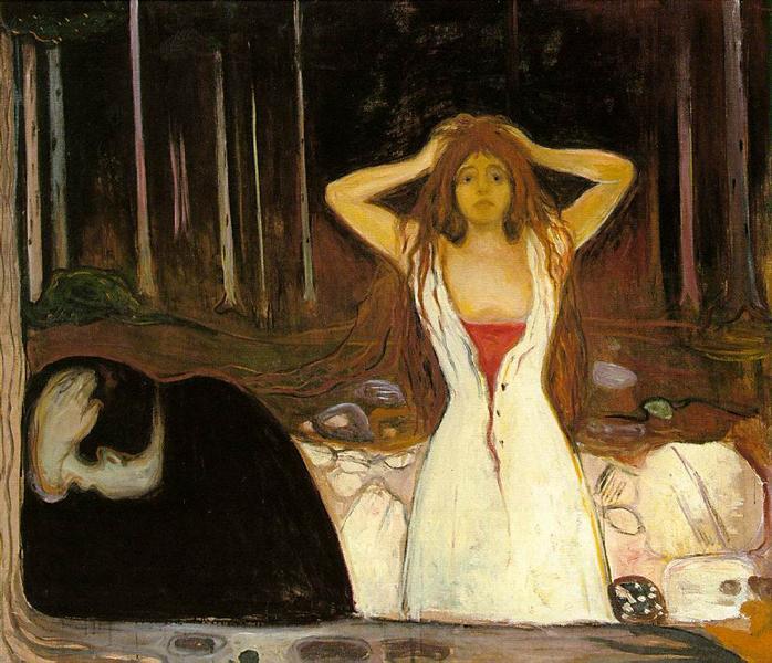Cendres, Munch, 1894