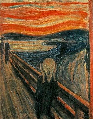 Le Cri, Munch, 1893