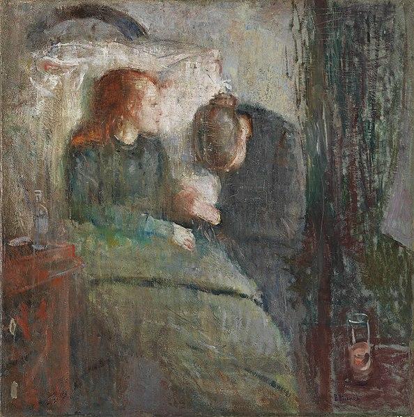 L'enfant malade, Munch, 1885
