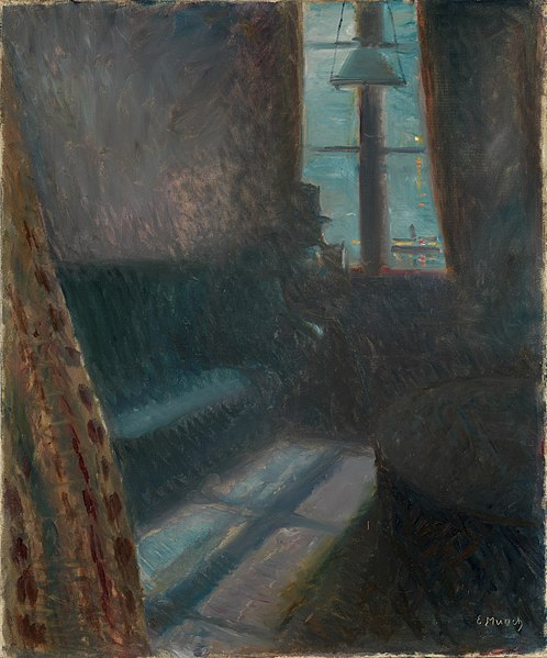 Nuit à Saint Cloud, Munch, 1890