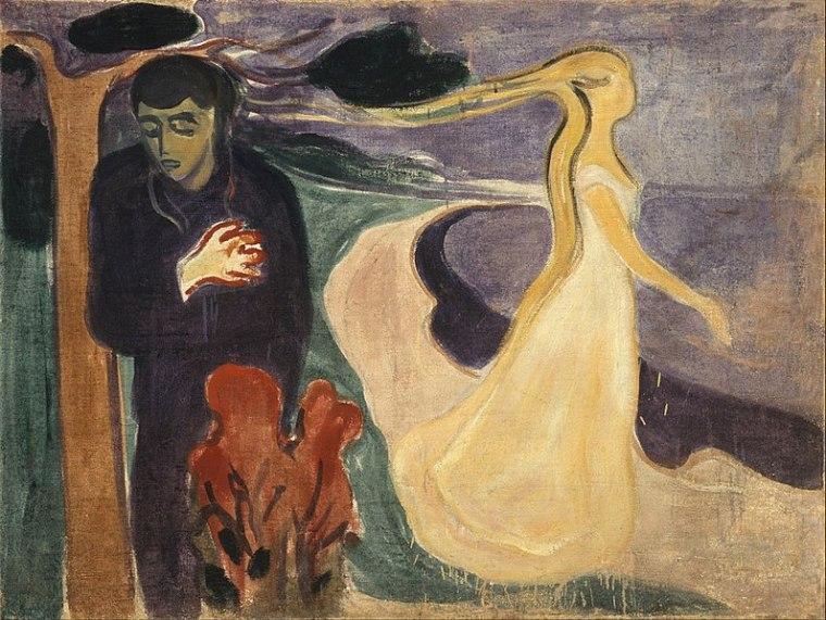Séparation, Munch, 1896