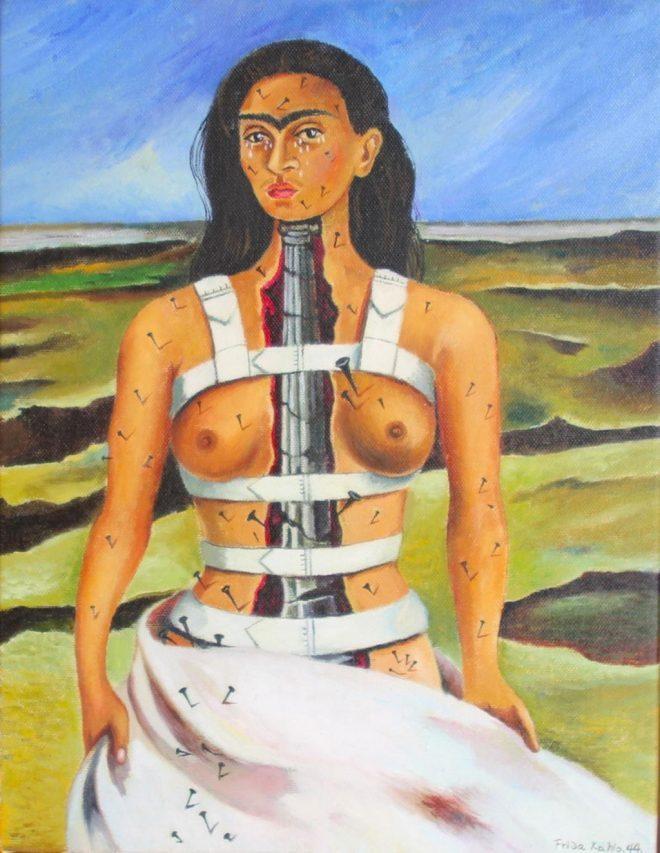 La colonne brisée, Frida Kahlo, 1944