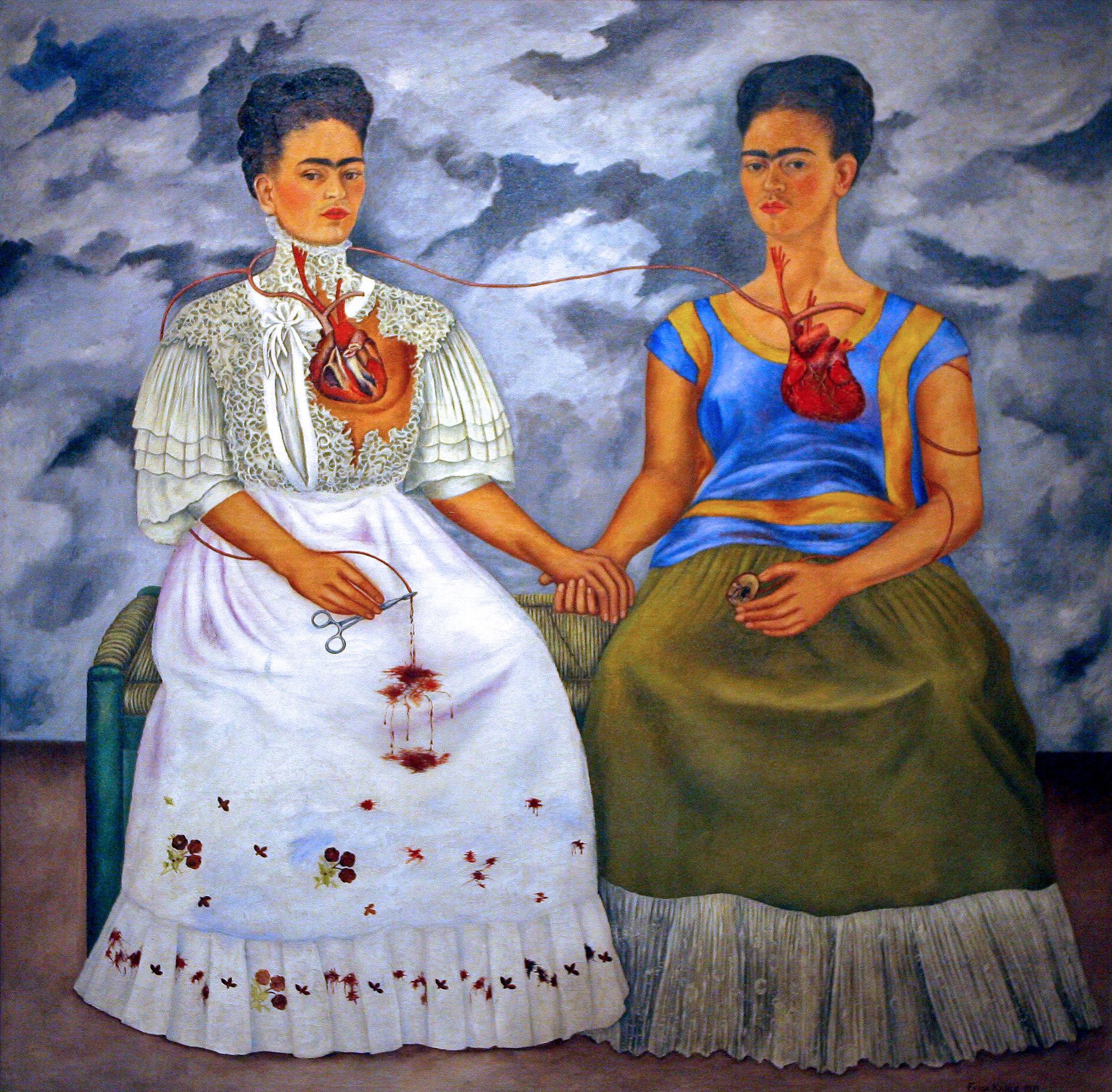 Les deux Fridas, Frida Kahlo, 1939