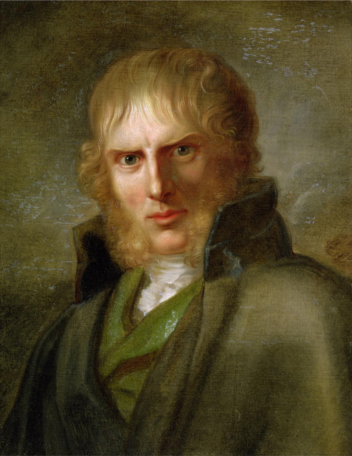 Portrait de Caspar David Friedrich par Gerhard von Kügelgen entre 1810-1820