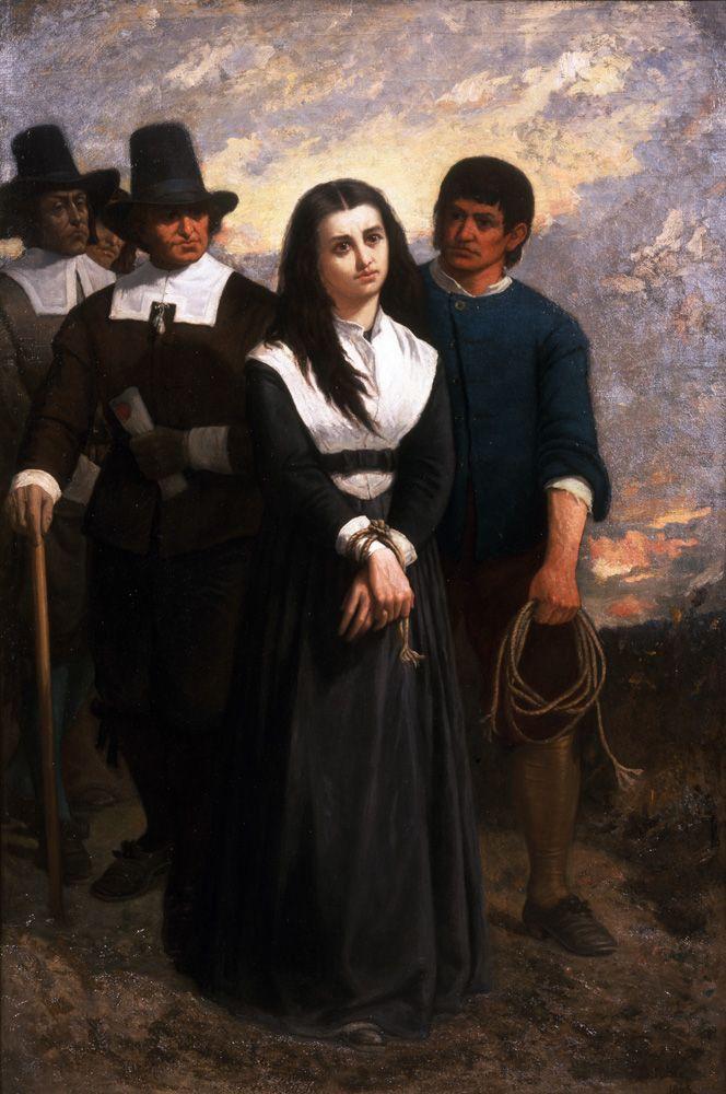 La martyre de Salem, Noble, 1869