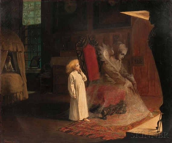 The Lady Ghost, Adelaide Claxton, 1876