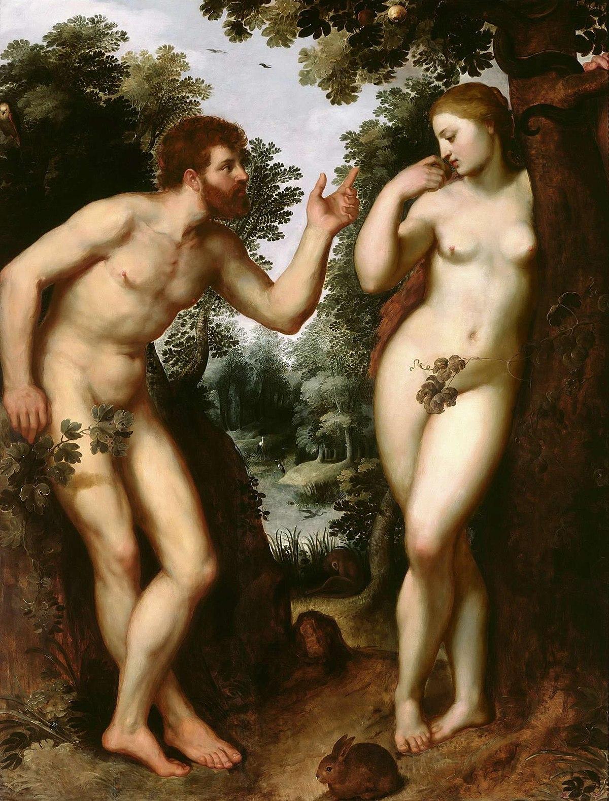 Adam et Eve, Rubens, 1600