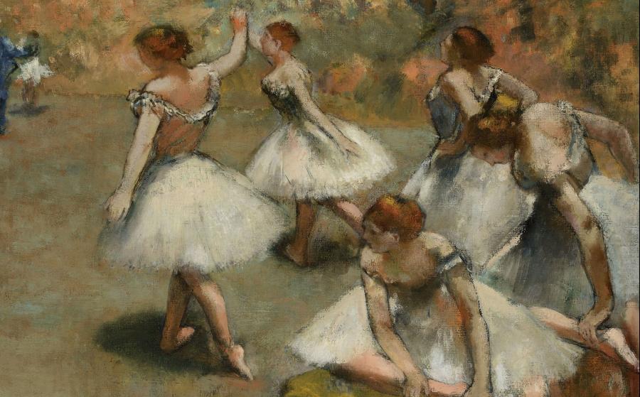 Danseuses sur scène, Edgar Degas, 1889
