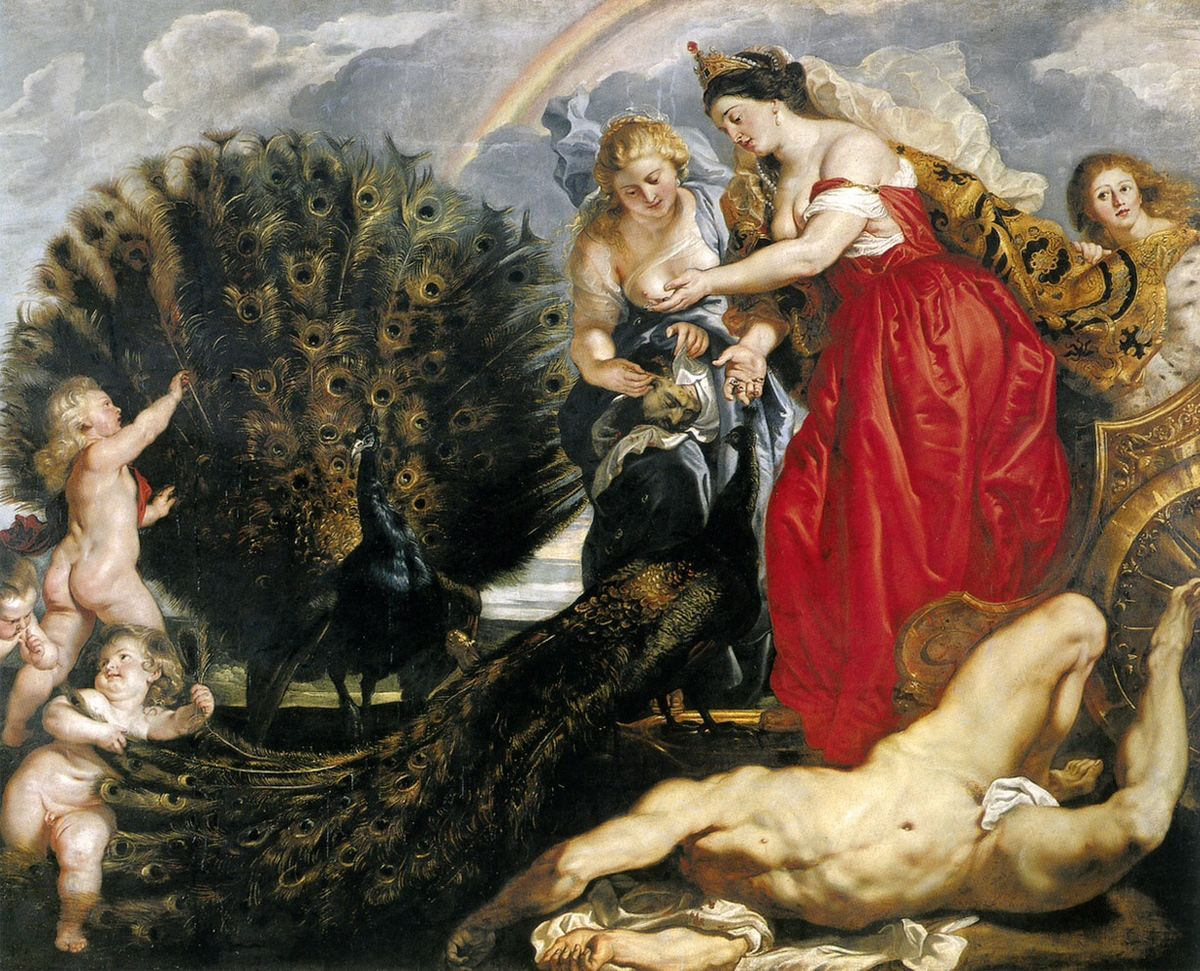 Héra et Argus, Pierre Paul Rubens, 1610