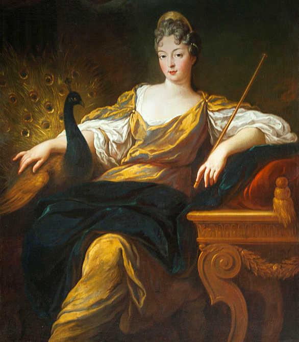 Hera et son paon, Jean-François de Troy, XVII-XVIII