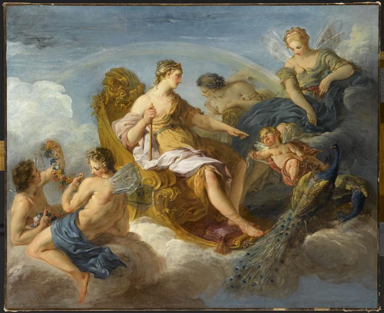 Junon, Iris et Flore, François Lemoyne, XVII-XVIII