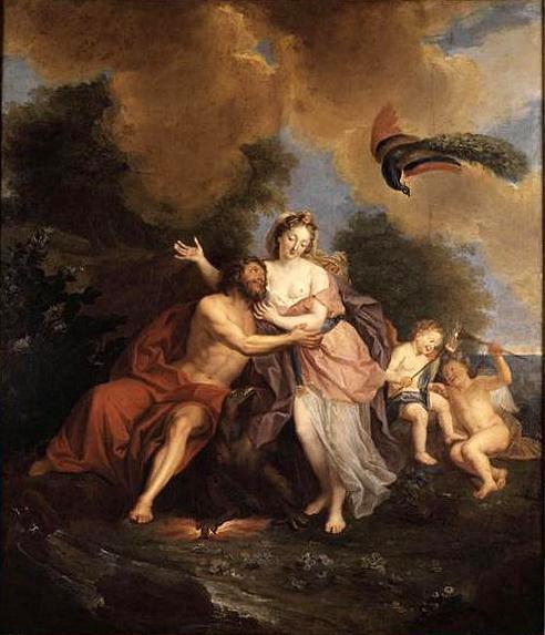 Jupiter et Junon sur le mont Ida, Antoine Coypel, 1699