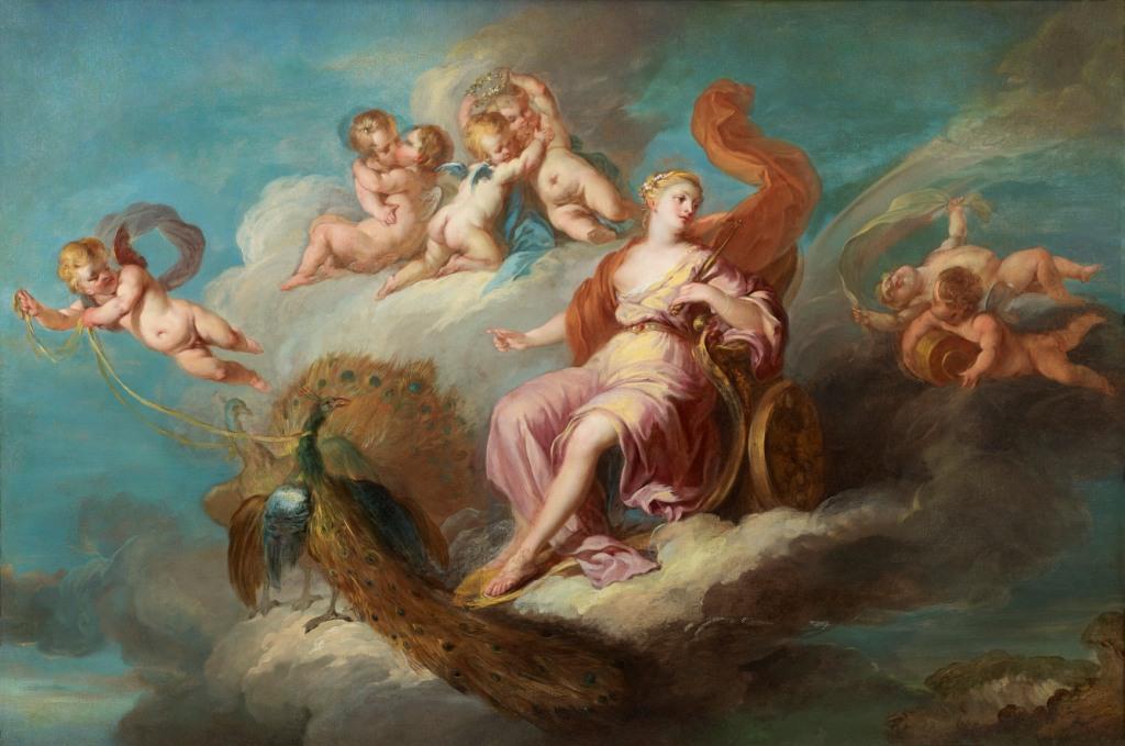 Le triomphe de Junon, François Lemoyne, XVIII