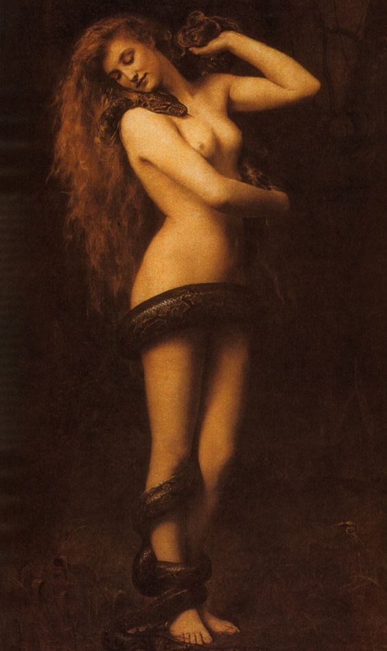 Lilith, John Collier, 1887
