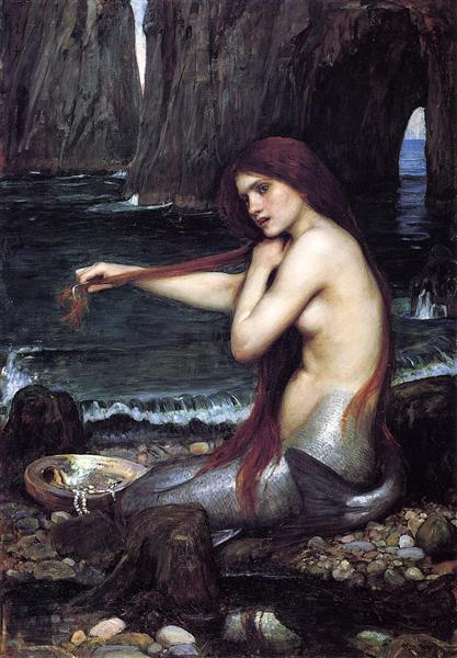 Sirène, John William Waterhouse, 1900