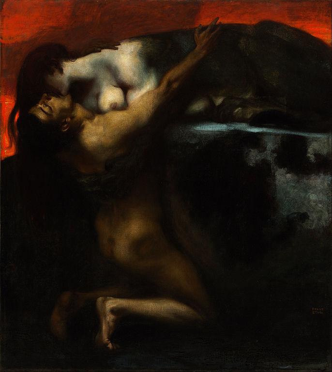 Le Baiser du Sphinx, Franz Von Stuck