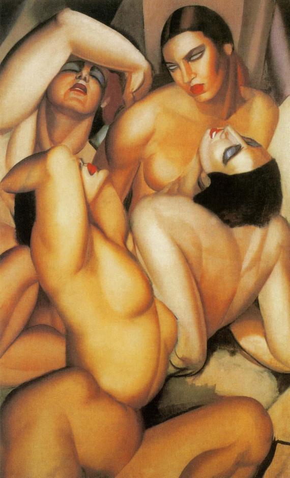 Groupe de quatre nues, Tamara de Lempicka, 1925