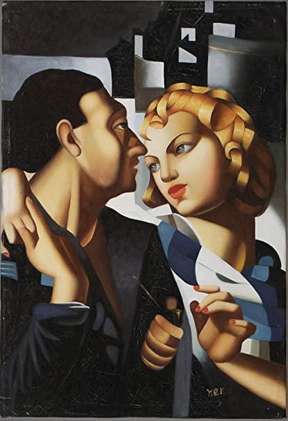 Idylle, Tamara de Lempicka, 1931