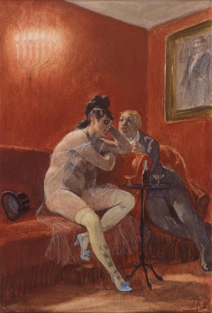 La Chanson de Cherubin, Felicien Rops, 1878-1881