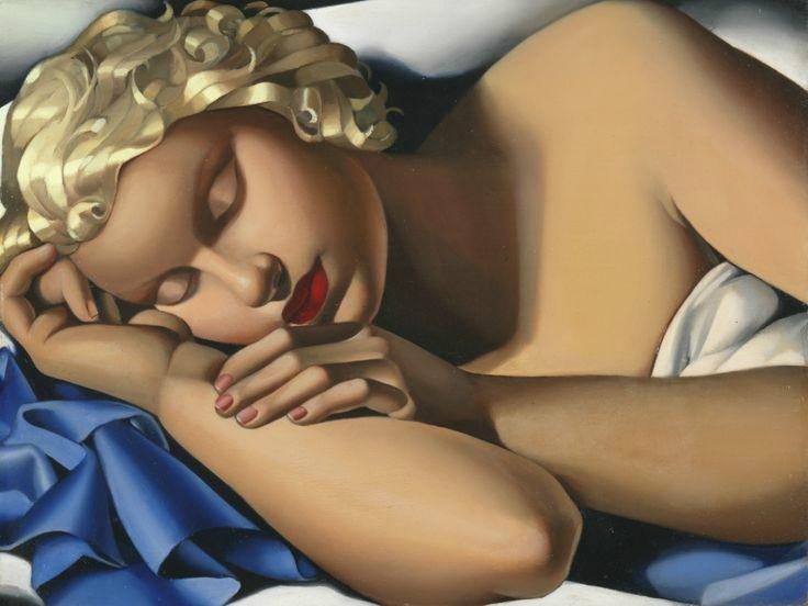 La dormeuse, Kizette, Tamara de Lempicka