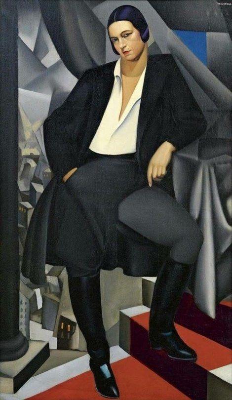 La Duchesse de La Salle, Tamara de Lempicka, 1925