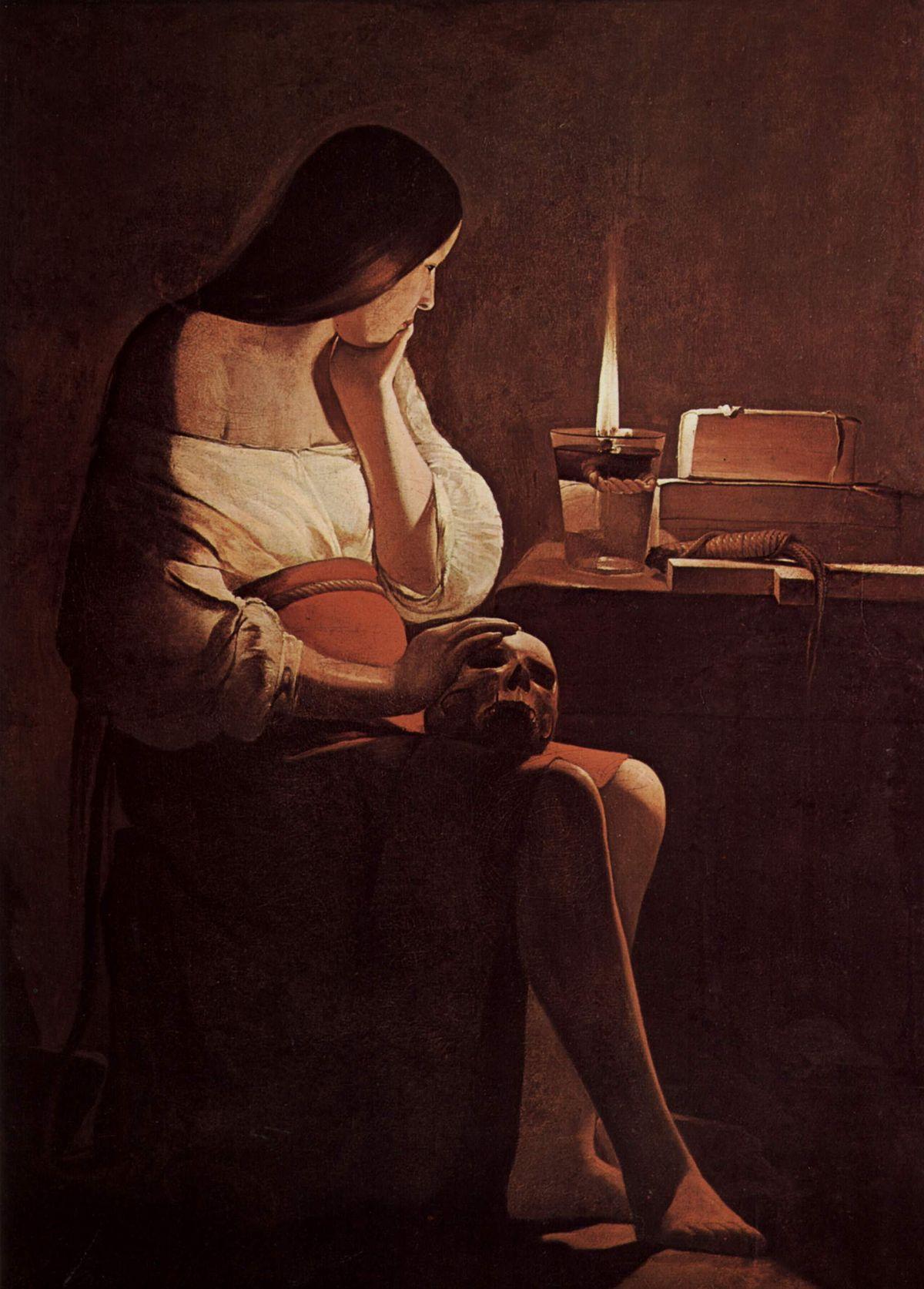 La Madeleine à la veilleuse, Georges de La Tour, 1645