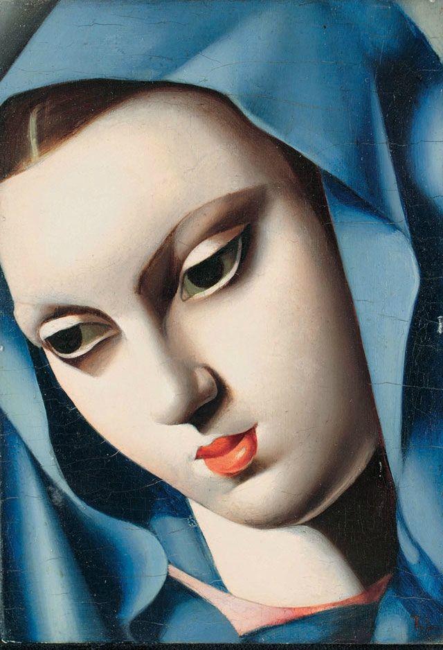 La vierge bleue, Tamara de Lempicka, 1931