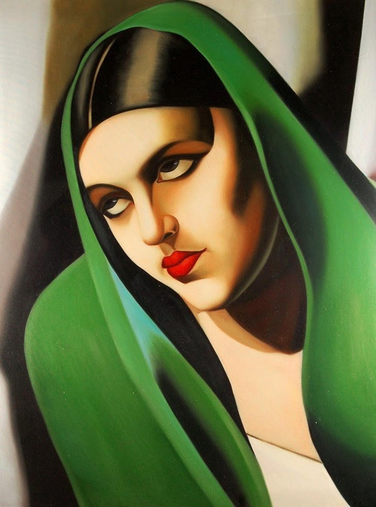 Le voile vert, Tamara de Lempicka, 1925